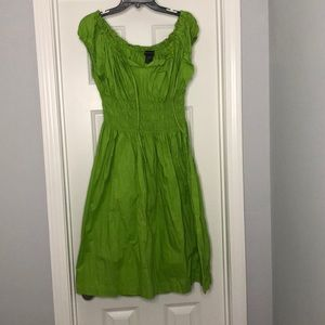 Ashley Stewart Green Dress